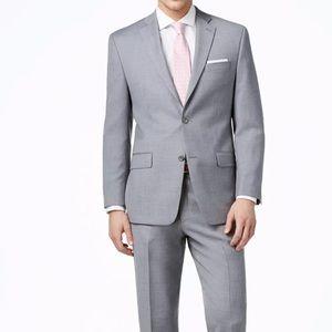 Michael Kors Men's Sharkskin Suit Jacket